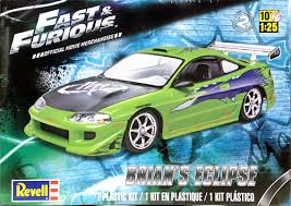 mitsubishi eclipse fast and furious revell fast and furious brian s mitsubishi eclipse