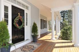 Coco Doormat Traditional Front Door With Doric Columns Zillow Digs Zillow