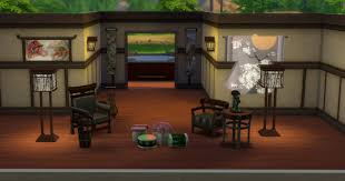 mod the sims japanese inspired living set conversion from sims 3