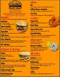 laid back burger shack florence jackson urbanspoon zomato