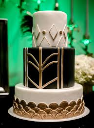 art deco themed wedding cake on with hd resolution 2595x3192