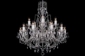 Classic Chandelier 15 Light Classic Georgian Style Chandelier In Silver Clds 15 The