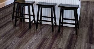 Black Vinyl Plank Flooring Adorable Black Vinyl Plank Flooring With Aspen Oak Black Nellia