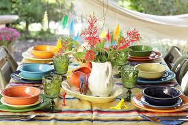 fun thanksgiving dishes colorful kids thanksgiving table cassie bustamante