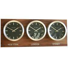 Australian Time Zone Map by Dual Time Zone Wall Clocks Australia 12 000 Wall Clocks