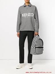 exclusive official men u0027s 98 kenzo logo zip up sweater fine