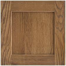 lowes medium oak kitchen cabinets shenandoah mission 14 5625 in x 14 5 in oak shaker cabinet sle