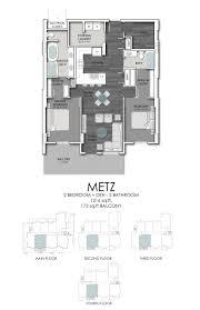 Den Floor Plan Floor Plans Cascade Condos