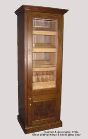 Armoire With Glass Doors Armoire Furniture Humidor Cabinets