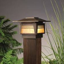 Kichler Led Landscape Lighting by Fence Post Cap Landscape Lighting You U0027ll Love Wayfair