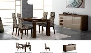 irene modern dining room set in wenge lacquer free shipping