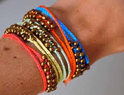 diy braided bracelet with beads images Diy neon braided bead bracelets pumps iron jpg