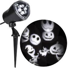 halloween light display projector shop gemmy jack skellington multi function white led multi design