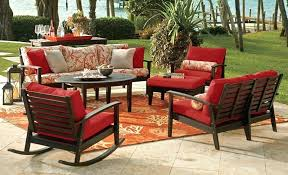 Patio Furniture Cushions Lowes by Replacement Cushions For Wicker Patio Furniture Cushions For