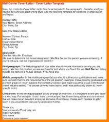 mail carrier resume lukex co