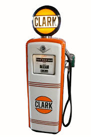 pompe a essence retro 1950s gas pumps 1950 u0027s clark oil gilbarco model 96 restored