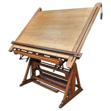 french adjustable architect u0027s drafting table 1900s at 1stdibs