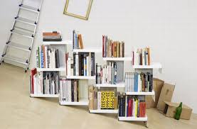 Bookcases As Room Dividers No Book Ends Modular Leaning Bookcase U0026 Room Divider