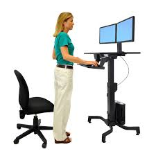 Stand Up Desk Conversion Kit by Monitor Mount System Workfit Dual Monitor Kit Ergotron