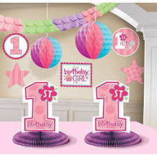 1st birthday girl 1st birthday girl decorating kit party supplies toys
