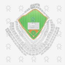Chicago Cubs Seat Map by Wrigley Field Baseball Sports Seating Charts