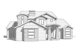 Two Story Craftsman Style House Plans by Cyprus 2 Story Craftsman Style House Plan Walker Home Design