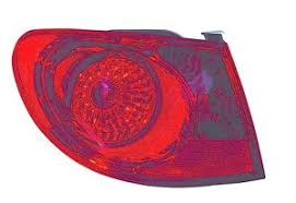 2010 hyundai elantra tail light assembly tail light assembly left maxzone 321 1945l as fits 07 10 hyundai