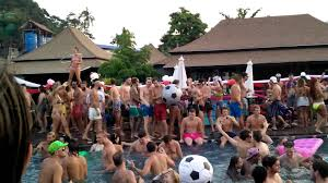 house pool party ibiza house phi phi island pool party 2015 youtube