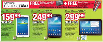 android tablet black friday black friday 2013 tech deals best prices u0026 savings on tablets