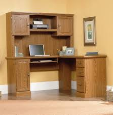 sauder desk with hutch solid wood computer desk with hutch sauder harvest mill l shaped