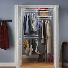 closetmaid shelftrack adjustable closet organizer kit reviews
