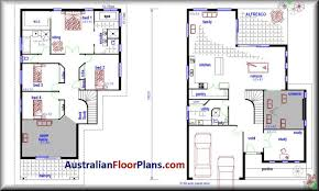 2 story modern house plans residential house plans 4 bedroomscar garage house plans australia