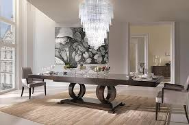 italian home interiors dining room interior design with vendrome italian furniture