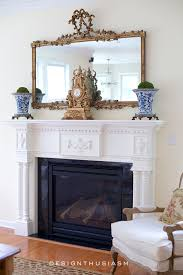 adding french country charm with gilded mirrors