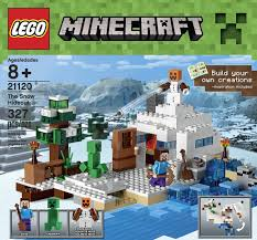 lego minecraft the snow hideout building kit on sale 27 99 reg