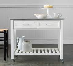 kitchen island or cart pb kitchen island cart large pottery barn