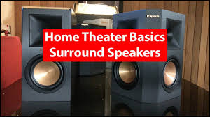 home theater surround speakers home theater basics surround speakers monopole bipole or