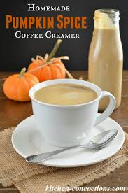 pumpkin spice for coffee homemade pumpkin spice coffee creamer two ways kitchen concoctions