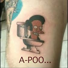 cool cartoon tattoos tattoos too funny or too much a crappy time guff