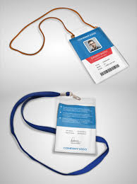 multipurpose company id card free psd template psdfreebies com