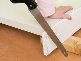 Laminate Flooring Under Door Frame How To Install Interior Pre Hung Doors How Tos Diy