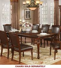 cherry wood dining room table the best brown cherry wood dining table by furniture of america
