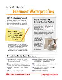 helpful tips crawl space and basement waterproofing in atlanta