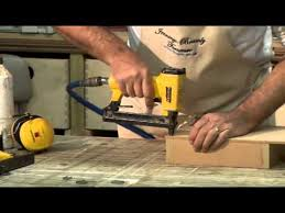 Best Pneumatic Staple Gun For Upholstery How To Use Your Pneumatic Stapler Youtube