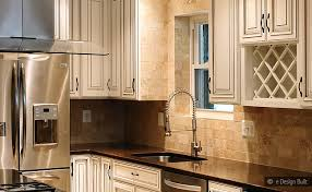 travertine subway backsplash brown countertop backsplash com