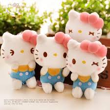cute kitty dolls mini size hanging decorations screen wiper
