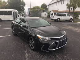 toyota avalon usa 2016 toyota avalon xle premium 4dr sedan in hallandale fl auto