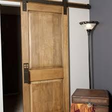Barn Door Closet Hardware Hand Made Interior Barn Door Hardware Flat Track Installation By