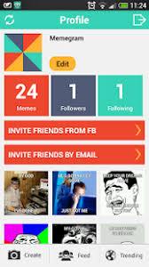 Free Meme Generator App - memegram free meme generator android apps on google play