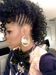 braid hairstyles for black women with a little gray braided mohawk 9 glamorous hairstyles